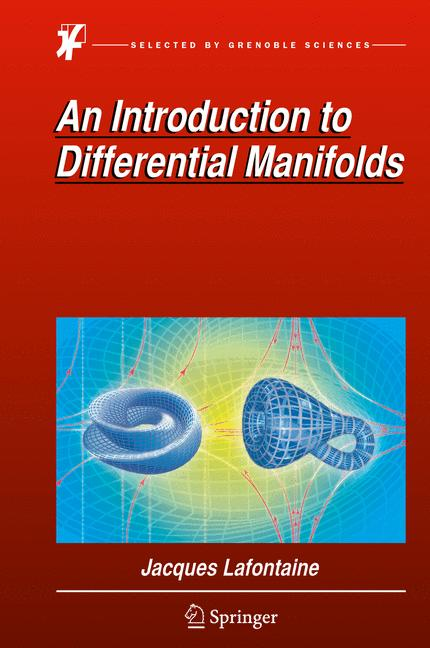 Cover of 'An Introduction to Differential Manifolds'