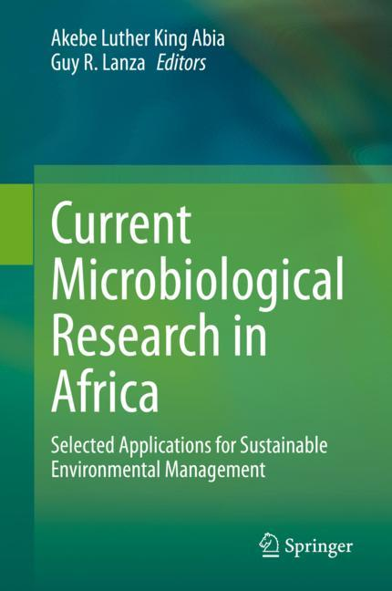 Cover of 'Current Microbiological Research in Africa'