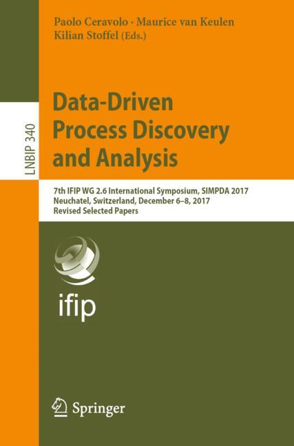 Cover of 'Data-Driven Process Discovery and Analysis'