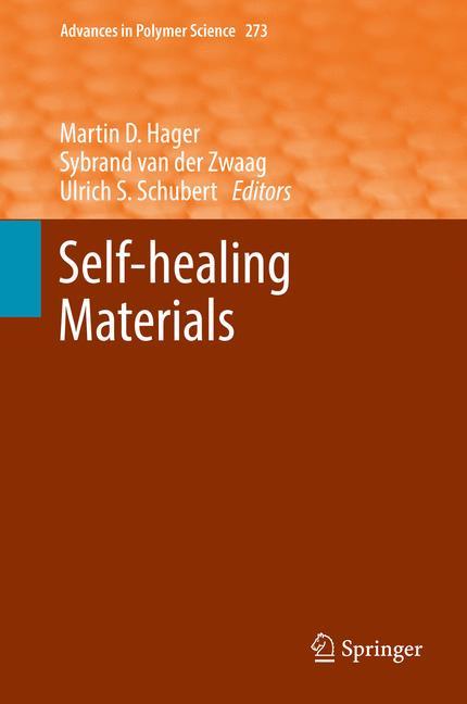 Cover of 'Self-healing Materials'