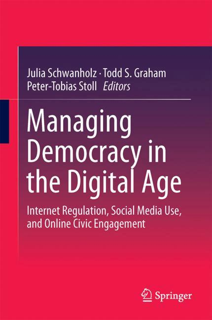 Cover of 'Managing Democracy in the Digital Age'