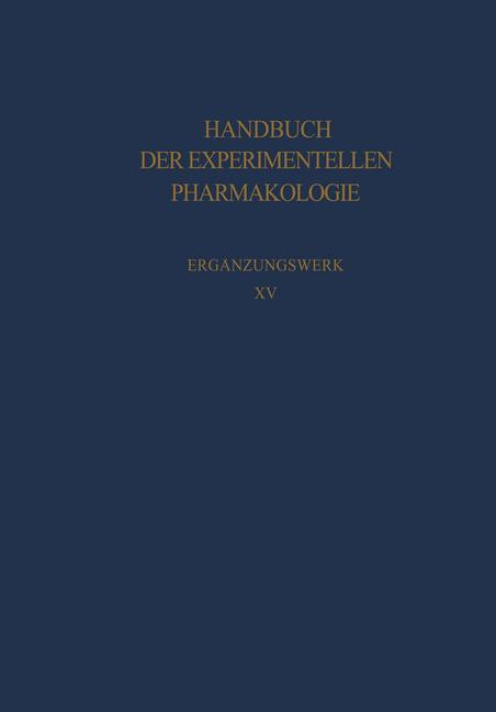 Cover of 'Cholinesterases and Anticholinesterase Agents'