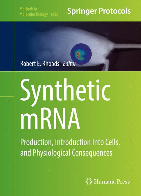 Cover of 'Synthetic mRNA'