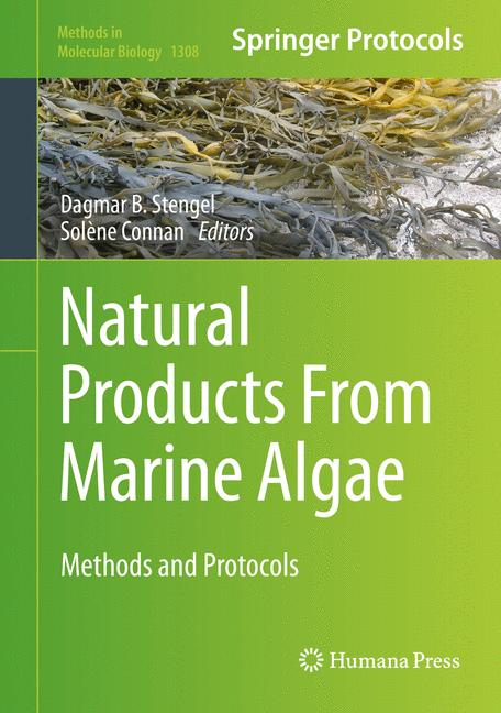 Cover of 'Natural Products From Marine Algae'
