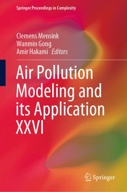 Cover of 'Air Pollution Modeling and its Application XXVI'