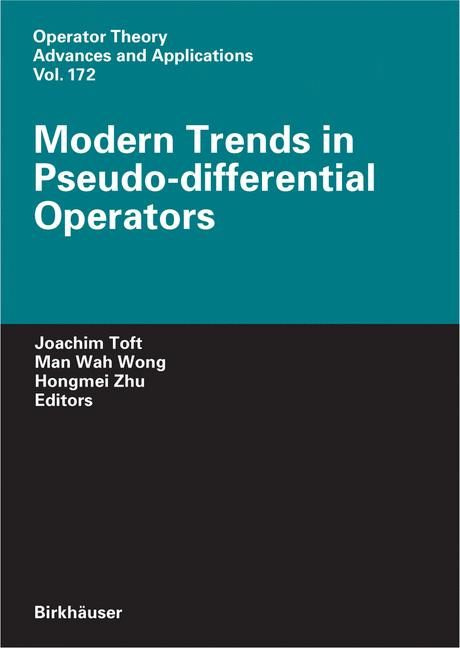 Cover of 'Modern Trends in Pseudo-Differential Operators'