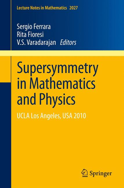 Cover of 'Supersymmetry in Mathematics and Physics'