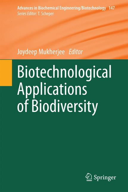 Cover of 'Biotechnological Applications of Biodiversity'