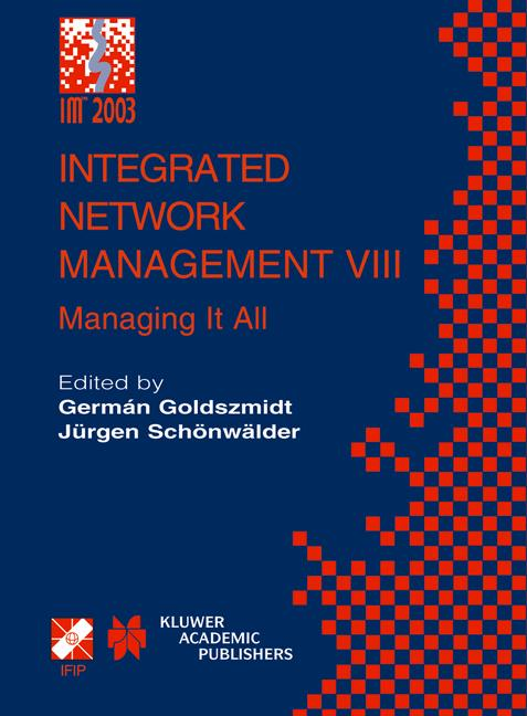 Cover of 'Integrated Network Management VIII'