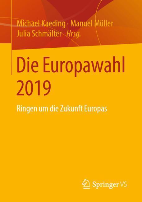 Cover of 'Die Europawahl 2019'