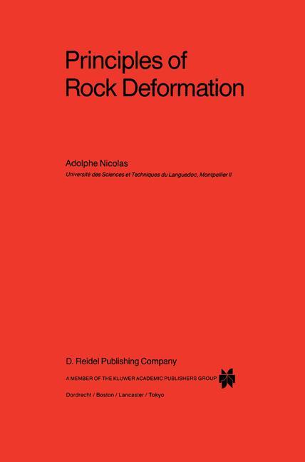 Cover of 'Principles of rock deformation'