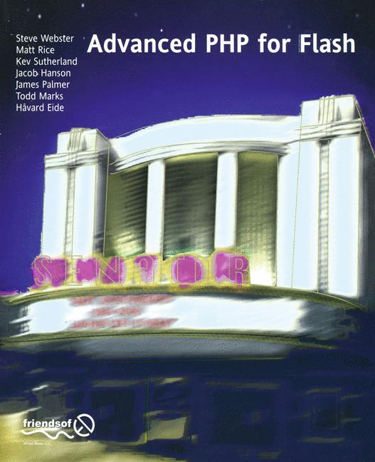 Cover of 'Advanced PHP for Flash'