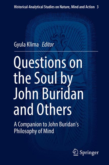 Cover of 'Questions on the Soul by John Buridan and Others'