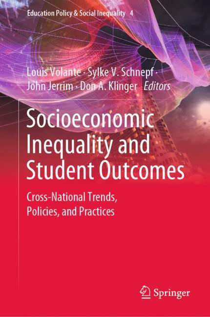 Cover of 'Socioeconomic Inequality and Student Outcomes'