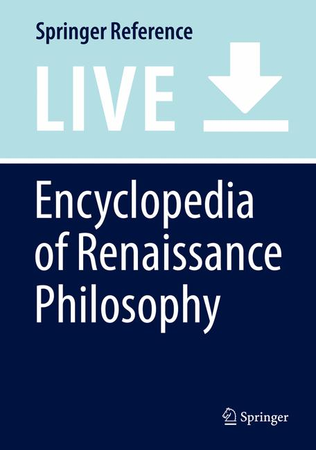 Cover of 'Encyclopedia of Renaissance Philosophy'