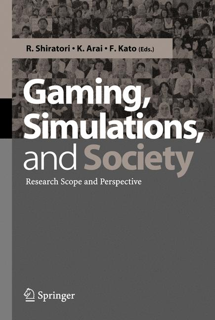 Cover of 'Gaming, Simulations, and Society : Research Scope and Perspective'