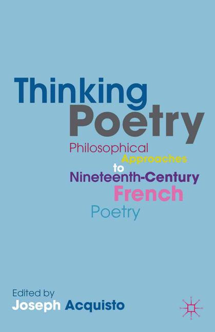 Cover of 'Thinking Poetry'