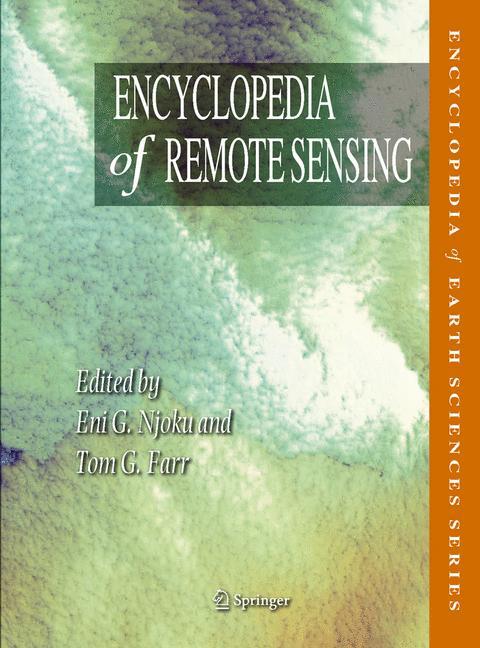Cover of 'Encyclopedia of Remote Sensing'