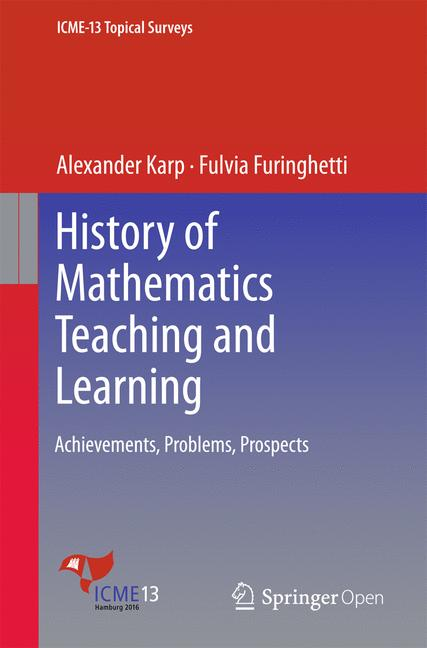 Cover of 'History of Mathematics Teaching and Learning'