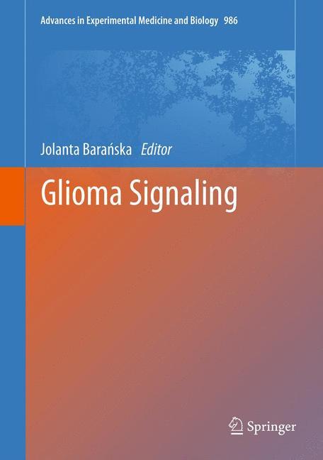 Cover of 'Glioma Signaling'