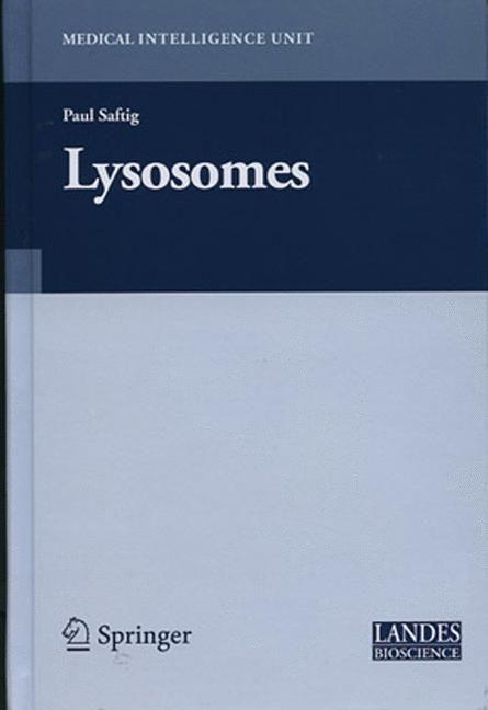 Cover of 'Lysosomes'
