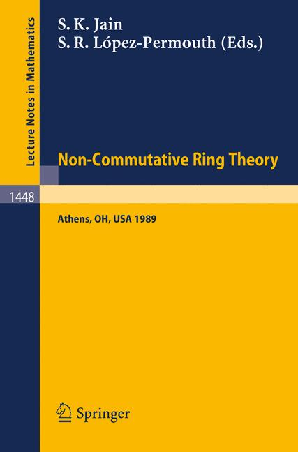 Cover of 'Non-Commutative Ring Theory'