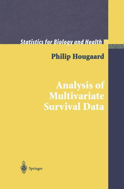 Cover of 'Analysis of Multivariate Survival Data'