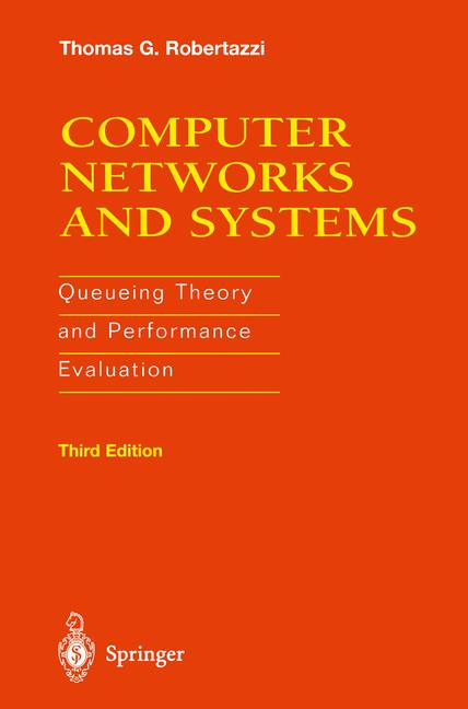Cover of 'Computer Networks and Systems : Queueing Theory and Performance Evaluation'