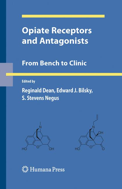 Cover of 'Opiate Receptors and Antagonists'
