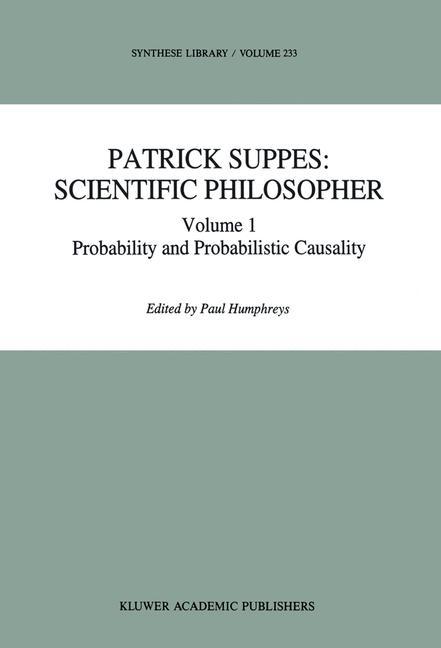 Cover of 'Patrick Suppes: Scientific Philosopher'
