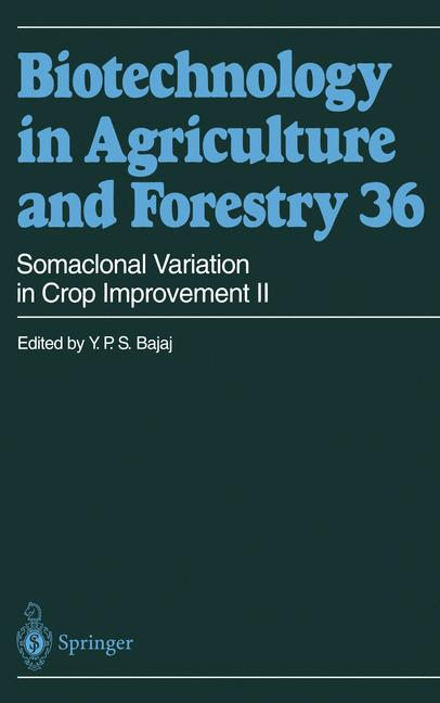 Cover of 'Somaclonal Variation in Crop Improvement II'
