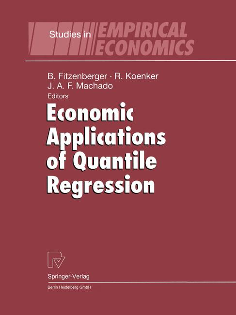 Cover of 'Economic Applications of Quantile Regression'