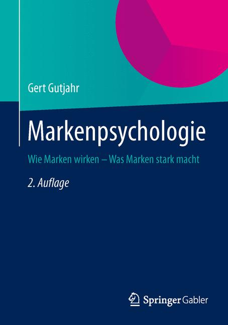 Cover of 'Markenpsychologie'