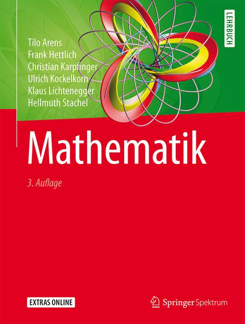 Cover of 'Mathematik'