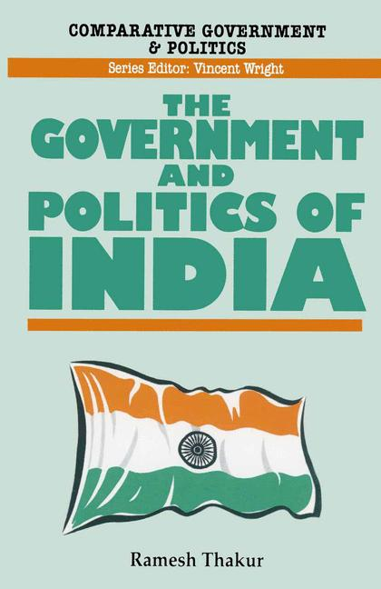 Cover of 'Government and politics of India'