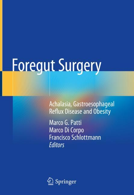 Cover of 'Foregut Surgery'