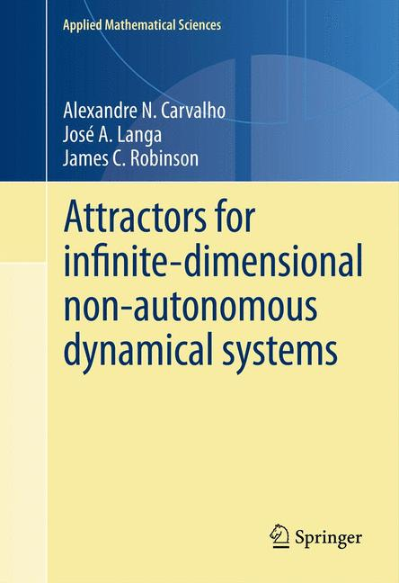 Cover of 'Attractors for infinite-dimensional non-autonomous dynamical systems'
