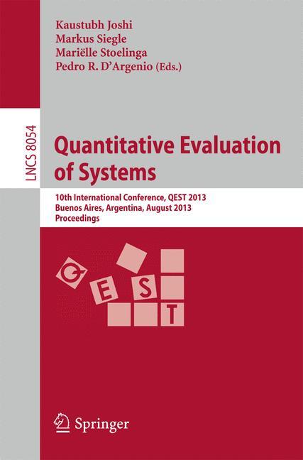 Cover of 'Quantitative Evaluation of Systems'