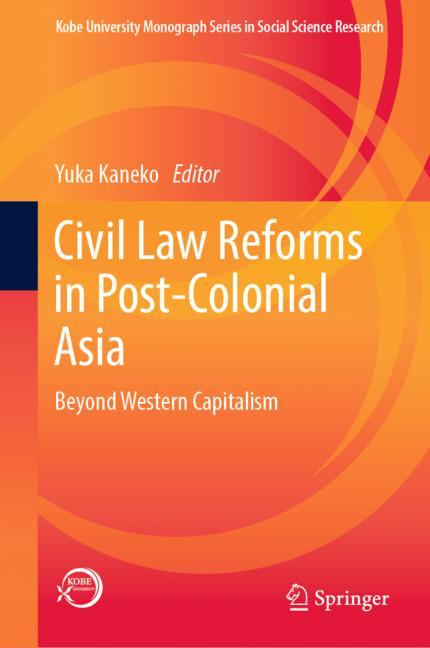Cover of 'Civil Law Reforms in Post-Colonial Asia'