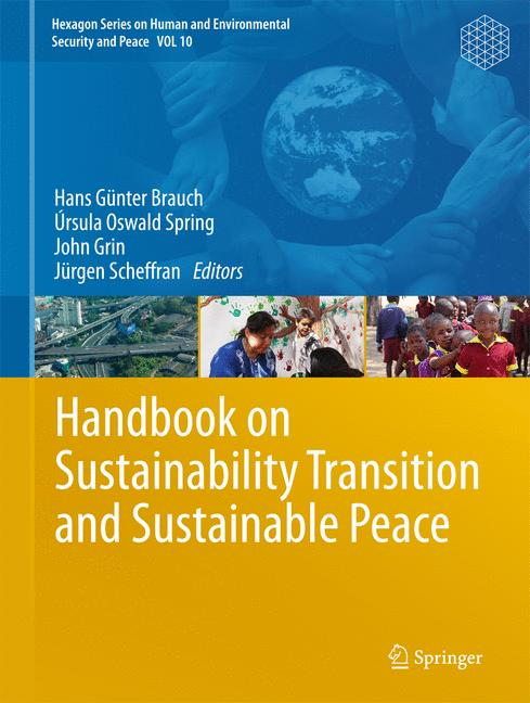 Cover of 'Handbook on Sustainability Transition and Sustainable Peace'