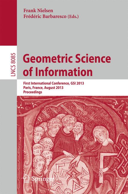 Cover of 'Geometric Science of Information'