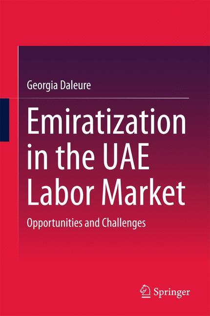 Cover of 'Emiratization in the UAE Labor Market'