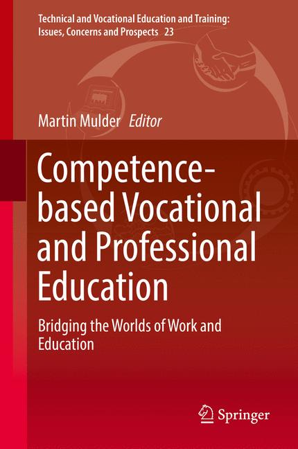Cover of 'Competence-based Vocational and Professional Education'