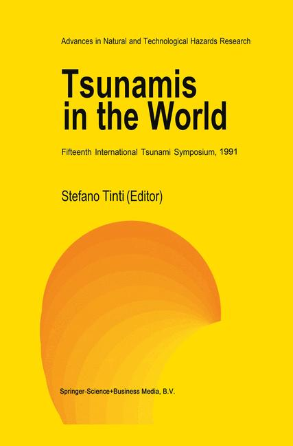 Cover of 'Tsunamis in the World'