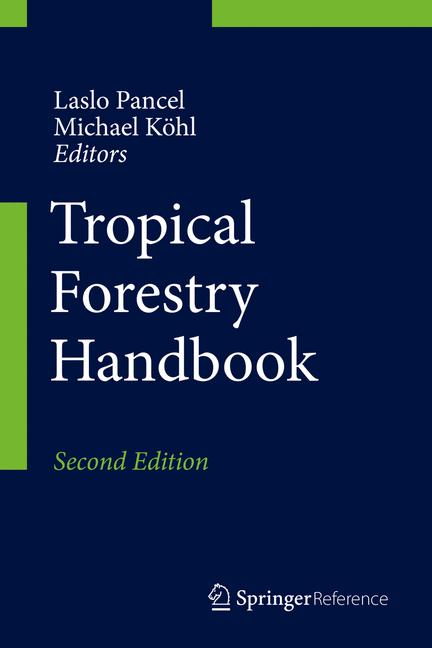 Cover of 'Tropical Forestry Handbook'