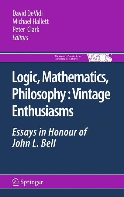 Cover of 'Logic, Mathematics, Philosophy, Vintage Enthusiasms'