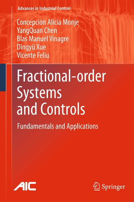Cover of 'Fractional-order Systems and Controls'