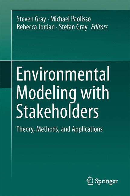 Cover of 'Environmental Modeling with Stakeholders'