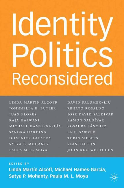 Cover of 'Identity Politics Reconsidered'