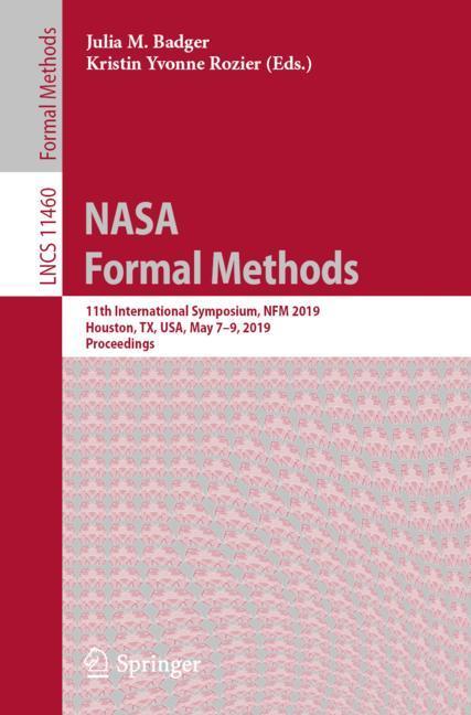 Cover of 'NASA Formal Methods'